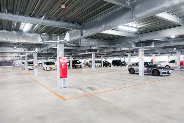 大規模契約で駐車場として再利用できた話